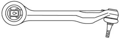 1714 FRAP Рычаг независимой подвески колеса, подвеска колеса