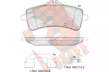 RB2218 R BRAKE