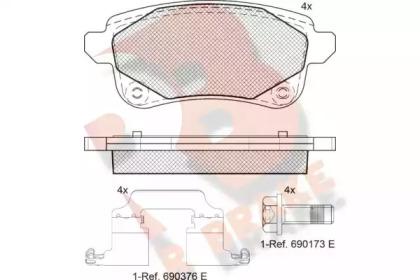 RB2222-208 R BRAKE