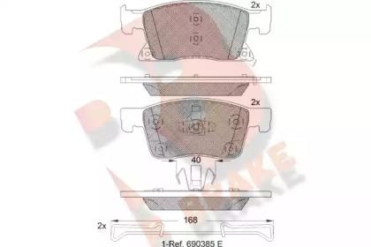 RB2245 R BRAKE