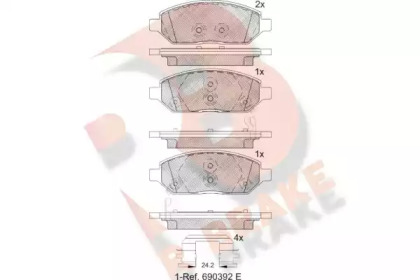 RB2264 R BRAKE
