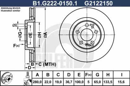 B1.G222-0150.1 GALFER