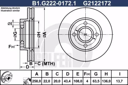 B1.G222-0172.1 GALFER