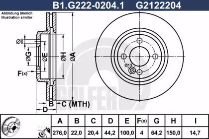B1.G222-0204.1 GALFER