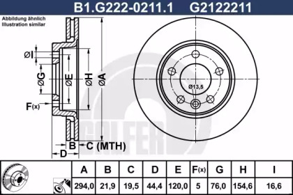 B1.G222-0211.1 GALFER