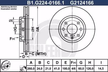 B1.G224-0166.1 GALFER