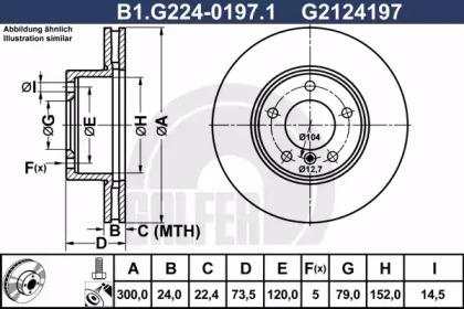 B1.G224-0197.1 GALFER