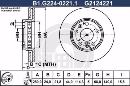 B1.G224-0221.1 GALFER