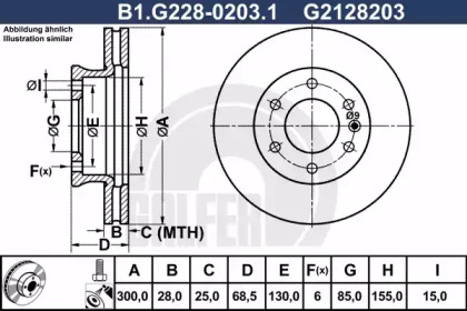 B1.G228-0203.1 GALFER