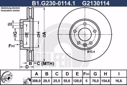 B1.G230-0114.1 GALFER