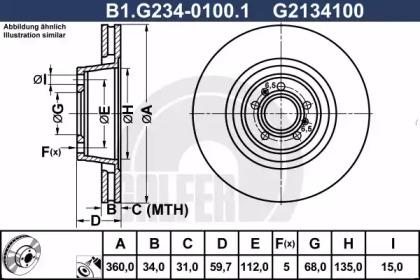 B1.G234-0100.1 GALFER