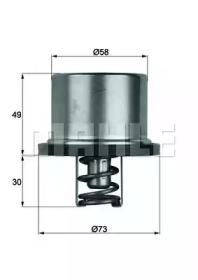 THD186 BEHR Термостат, охлаждающая жидкость
