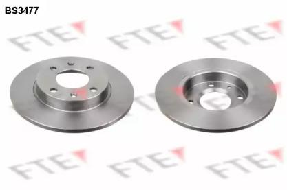 BS3477 FTE Тормозной диск