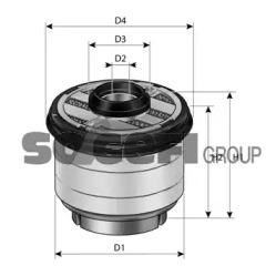 C10353ECO FRAM Топливный фильтр -1
