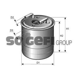 P11419 FRAM Топливный фильтр -1