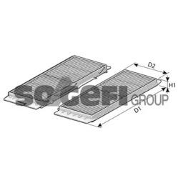 CF102182 FRAM Фильтр, воздух во внутренном пространстве -1