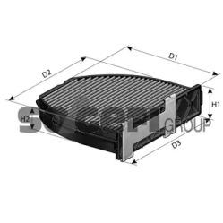 CFA10934 FRAM Фильтр, воздух во внутренном пространстве -1